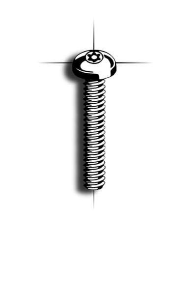 Picture of Machine screw | 6-Lobe Pin | panhead DIN7985/DIN965