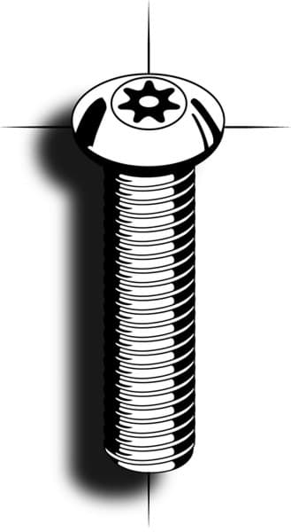 Picture of Machine screw | 7-Star® | buttonhead